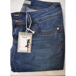 Jeans femme La Griffe taille basse Push up