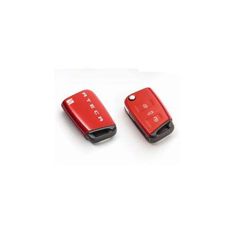 SEAT KEY COVER ATECA, ROUGE
