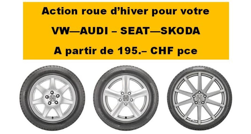Roue Hiver VW - AUDI - SEAT - SKODA